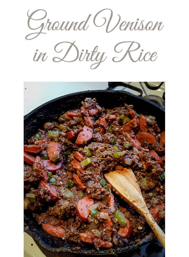 ground-venison-in-dirty-rice